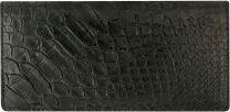 Python lederen dames portemonnee B034-01PT Black