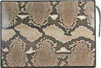 Python slangenleren handtas ISSNB884PT Natural