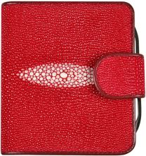 Pijlstaartrog leren portemonnee PR93 Fire Red