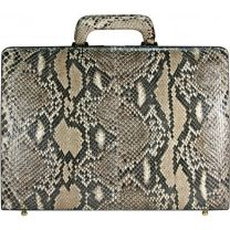 Python leren attaché koffer SNA044-02-G-PT Natural
