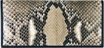 Python lederen dames portemonnee SNLW01PT Natural
