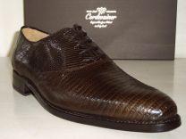 Varaan leren schoenen Lizard leather Cord1